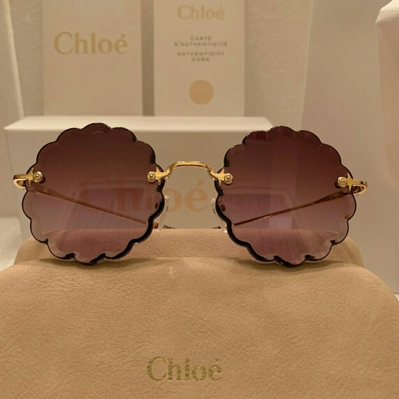 780c428af2d  New Chloe Rosie Sunglass CE142S in Gold